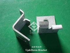 INOX A2 A4 Up and Down Bracket Angle