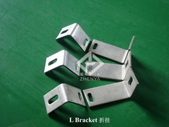 INOX A2 A4 L Angle Bracket for Support Restraint Anchor