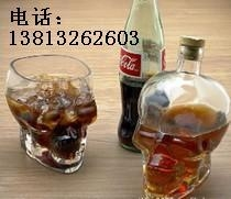 创意型骷髅头酒瓶