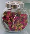 180/220ml玫瑰花茶玻璃
