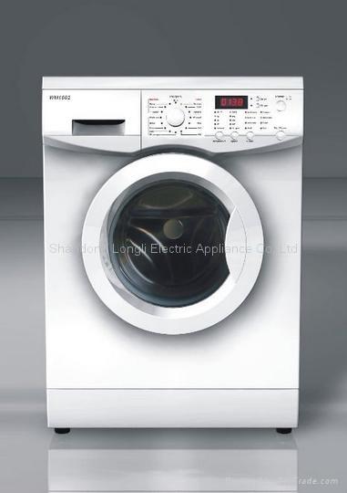 CE certified front loading washing machine 1