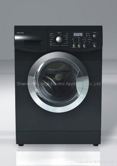 CE certified front loading washing machine 2