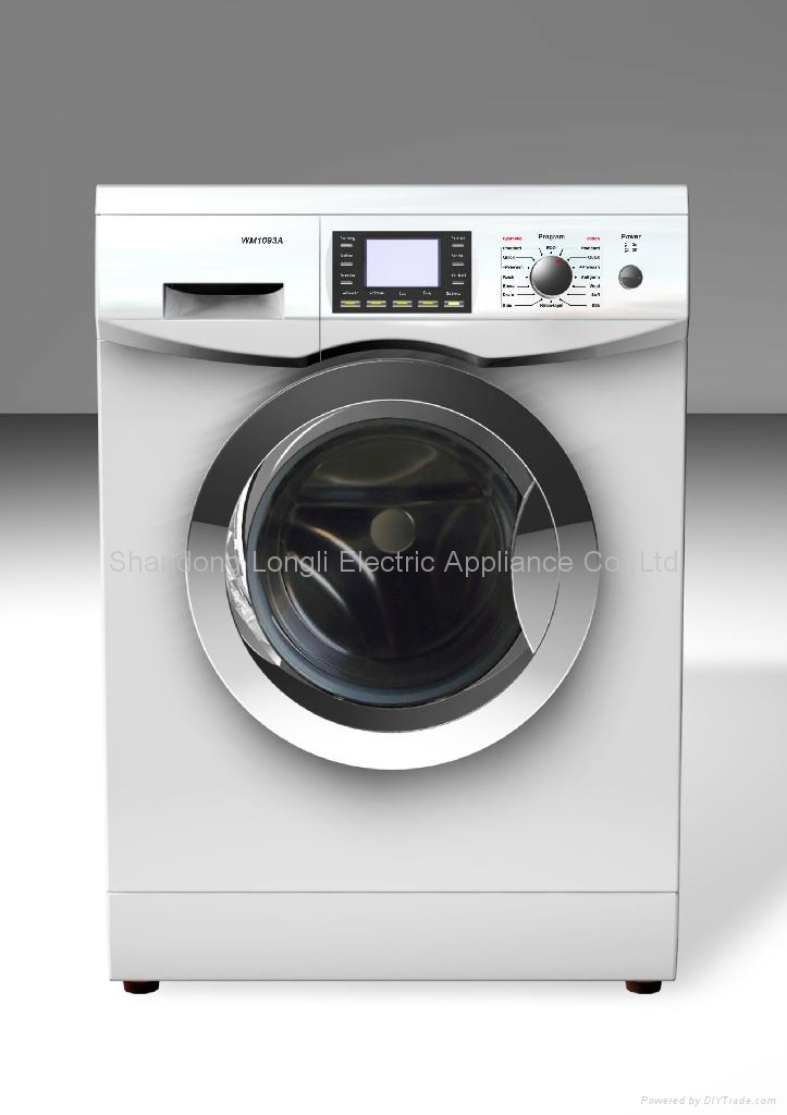 fully automatic front loading washing machine 1