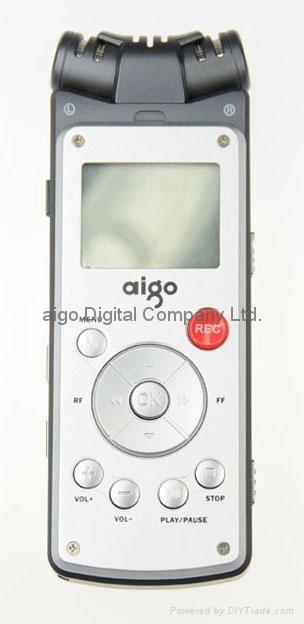 aigo R5589 2GB Voice Recorder 1