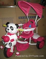 儿童三輪車