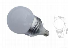 大功率LED可控硅调光球泡灯