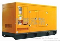 靜音型柴油發電機組租賃
