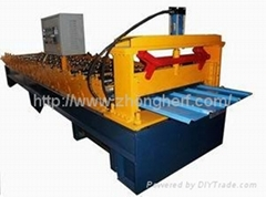 Automatic color roof tile roll forming machine