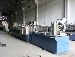 upright punching molding production line