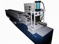 Automatic door frame roll forming machine