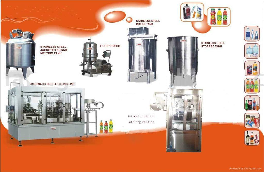 Automatic green tea filling machine 1