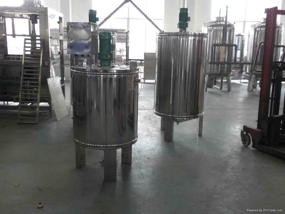 Automatic green tea filling machine 4