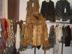 女士羊羔毛皮草時尚服飾