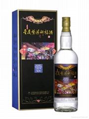 50度1000ml金厦繁荣祈福酒(2009年新推出)