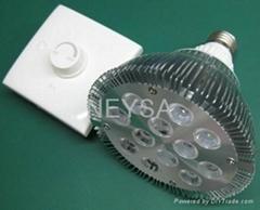 12W SCR Dimmable led PAR38 spot light