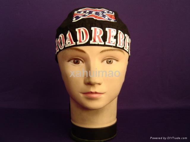 供应海盗帽,头巾帽,自行车帽子
