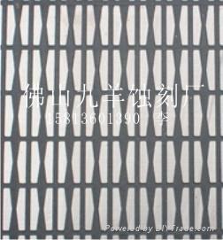 不鏽鋼電梯防滑板 1