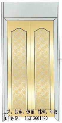 定做山西不鏽鋼電梯門裝飾板 5