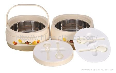 Plastic Insulated Food Storage ContainerFood Warmer HS1930