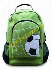 School Backpack,Made of polyester 600D,Customized designs are welcome.