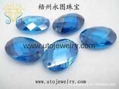 人造锆石玻璃宝石