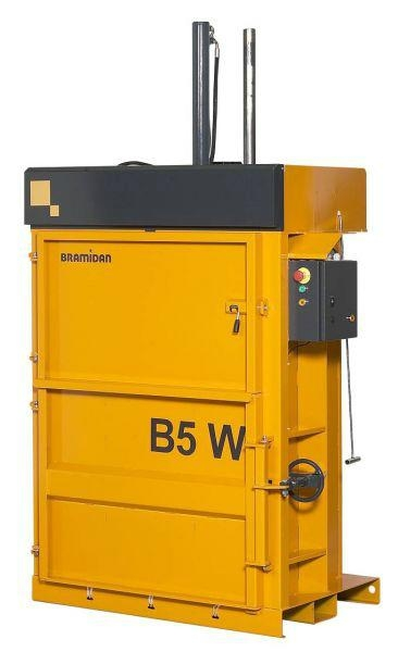 B5 W - 便利型直立壓縮打包機 1