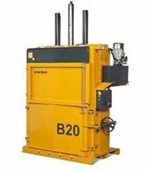 B20 - 人氣型直立壓縮打包機