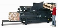 HC30 - 小型全自動橫式軌道壓縮打包機