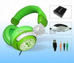 5.1环绕声耳机