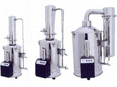 斷水自控型不鏽鋼電熱蒸餾水器HSZII-20