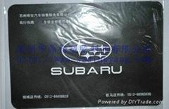 斯巴鲁汽车防滑垫