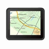 "GPS navigation 3.5"""