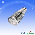 LED E27 3X3W 射燈