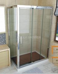 Gearing Slide Door Shower Room