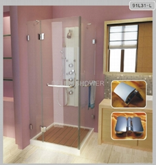 Stailess Steel Hinge Shower Room