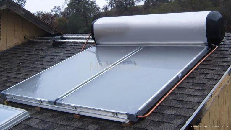 Solar water heater 4