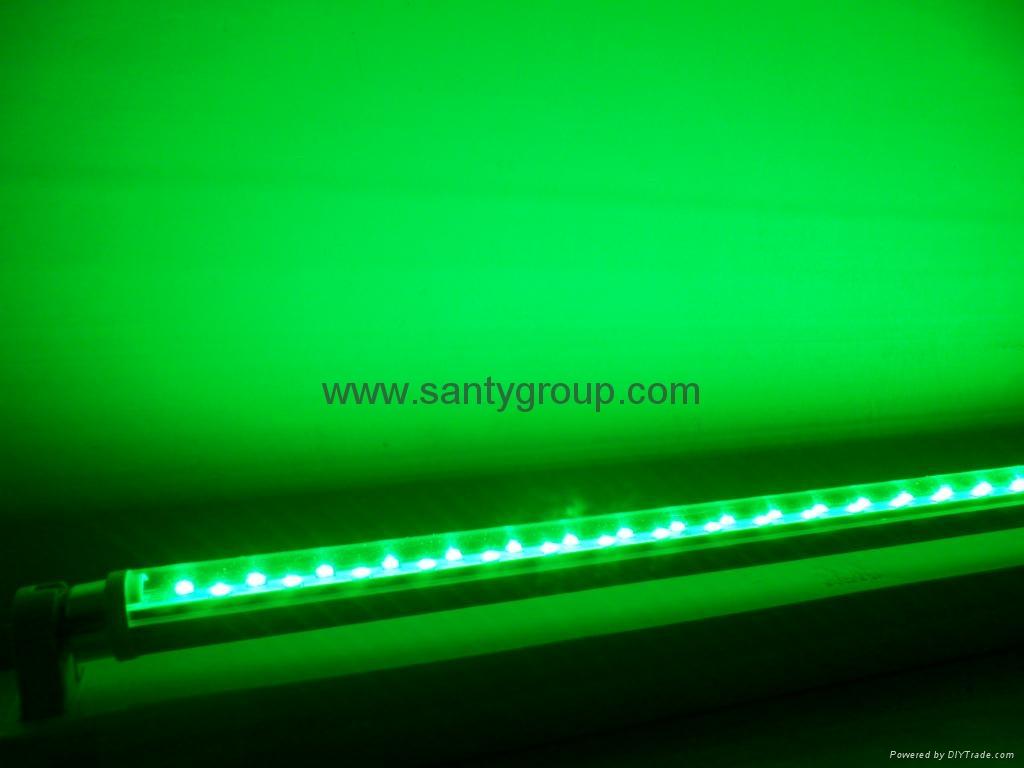 Rgb T8 Led Tube Light With Rotatable Holder Flt8mc06