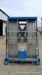 aluminum alloy lift table with double masts