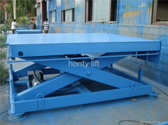 scissor lift table for cargo lifting