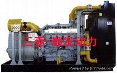 三菱1000KW柴油发电机组