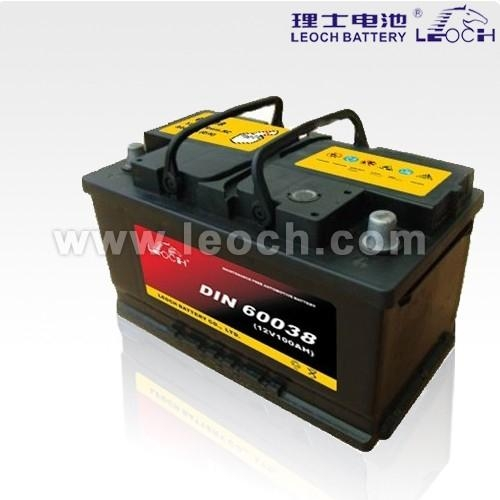 LEOCH Lead Acid Car Battery With 100AH Capacity 1