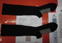 銀纖維中統抗菌靜脈曲張醫療壓力睡眠襪