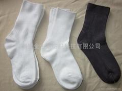 供防火阻燃抗菌襪