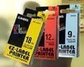供应全新原装卡西欧标签机色带12mm透明底黑字