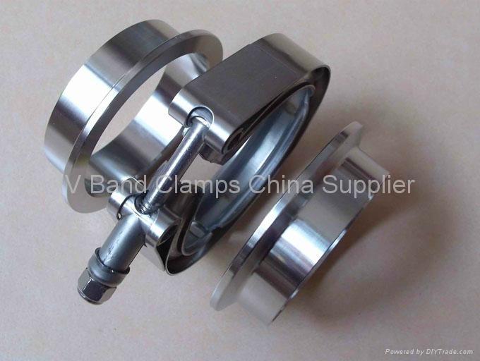 V Band Clamps - WDVC - WANDA (China Manufacturer) - Pipe ...