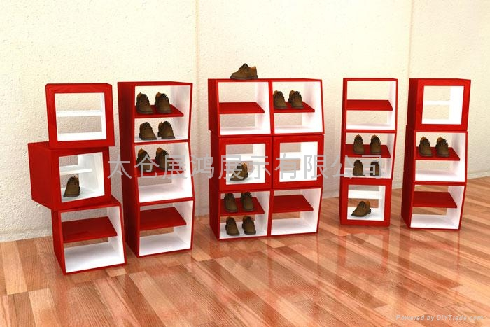 shoes display cabinet - DS101 - zhelf (China Manufacturer ...