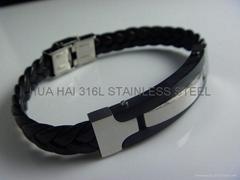 316L Stainless steel Braceletes