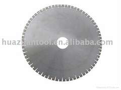 Diamond Saw Blade with Two Segments Per Tooth