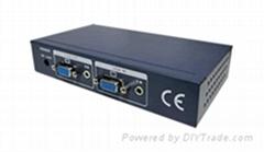 網盒視通正品可調型超長VGA音頻驅動放大器