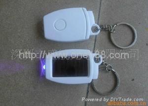 太阳能塑料挂件手电筒 1